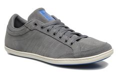 Coole Sneakers Plimcana Clean Low van Adidas Originals (Grijs) Sneakers van het merk Adidas Originals voor Heren . Uitgevoerd in Grijs gemaakt van Nubuck.