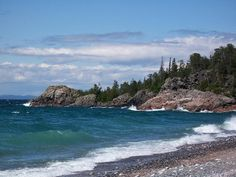 Lake Superior Provincial Park, camped here with my bestie back in the on our way out west! Ontario Provincial Parks, Places To Travel, Places To Visit, Travel English, Ontario Parks, Discover Canada, Best Travel Deals, Travel Guide, Canadian Wildlife