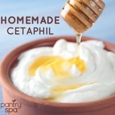 Homemade Cetaphil: Simple Face Cleanser Home Remedy - Pantry Spa  1tsp honey 2 tsp yoghurt (plain)