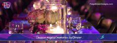 PURPLE WEDDING COLORS, PAIGE BROWN DESIGNS, TABLESCAPE www.paigebrowndesigns.com