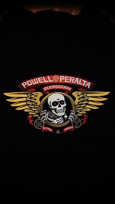 "Powell Peralta Patch Vato Rat White 3.5/"""