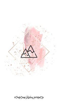 Instagram Symbols, Logo Instagram, Instagram Funny, Story Instagram, Pink Highlights, Story Highlights, Pretty Wallpapers Tumblr, Flower Graphic Design, Edit My Photo