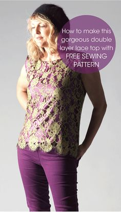 tutorial for 2 hour top sewing pattern                                                                                                                                                      More