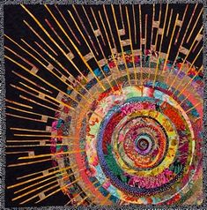 Gorgeous art quilt by Paula Nadelstern! want vestments with this same quality and feel. Beautiful.....