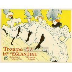 Artbohemia.cz, Henri de Toulouse-Lautrec: La Troupe de Mlle Énglantine (1896), opus 162