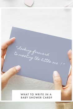 Struggling to write a thoughtful message for a baby shower card?   Our heartfelt suggestions are a great way to acknowledge this huge milestone and share in the expectant parents celebration of their impending arrival. Baby Shower Card Message, Baby Shower Messages, Baby Shower Quotes, Baby Shower Cards, Baby Shower Parties, Baby Shower Congratulations, Congratulations And Best Wishes, Baby Shower Planner, Shower Tips