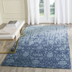 Safavieh's Restoration Vintage collection is inspired by timeless vintage designs crafted with the softest wool available.