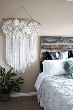 Large Dream Catcher Wall Hanging Dreamcatcher Driftwood Doily Bedroom Decor Wedding Photography Backdrop