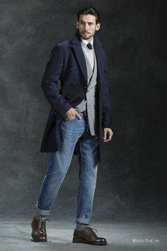Мужская мода: Мужская коллекция Brunello Cucinelli, осень-зима 2016-2017