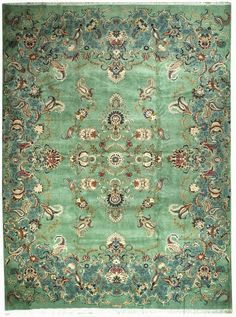 New Contemporary Persian Kashan Area Rug