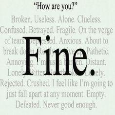 Quotes About Depression | Depressing Quotes | DepressingQuotesz.blogspot.com