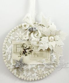 A Christmas Plaque by talented Tracy, Pion Design Palette and Days of Winter - Images