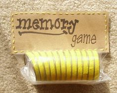Another great use for baby food jar lids.  Awesome Idea! Craft: Memory Game