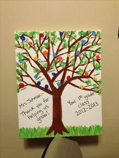 Afbeeldingsresultaat voor thumbprint kindergarten teacher gift ideas