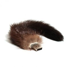 $375 Furry USB Key. This is epic. I would love to have this poking out the side of my Mac. Although it looks like it could be a fire hazard..