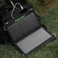 Poweradd 14W Dual-Port Foldable Solar Panel Portable Charger - one of best selling portable solar chargers - review