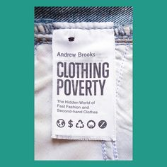 Clothing Poverty - http://www.clothingpoverty.com