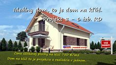 Vaše vysnívané bývanie Váš nový domov: Projekt 8 - 6 izb. bungalov. Inford800@gmail.com +421 908 762 654 Ponúkame výstavbu rodinných domov- nízkoenergetických bungalovov, ktoré spájajú komfort, kvalitu stavebných konštrukcií, energetickú a finančnú úspornosť, efektivitu. • Len za 750,-€/m2 úžitkovej plochy. • GENESIS – to je projekcia a realizácia v jednom. Dom na kľúč je nízkoenergetický bungalov realizovaný z kvalitných materiálov, zhotovený s citom pre detail, servis a inžiniering.