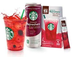 Starbucks Refreshers Offers a Boost of Natural Energy #drinking #drink