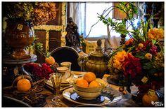 Tuscan Tabletop! #interiordesign #tableware