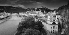 Altstadt Salzburg Panorama
