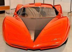 1967 Corvette Astro Concept Car Floating Concept Cars Lamborghini Aventador LP700-4 Black Eleanor car
