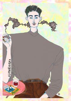 unskinny - Jeremy Combot Illustration