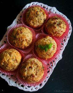 Muffiny z Szynką i Serem - Przepis - Słodka Strona Breakfast, Food, Drink, Recipes, Meals, Morning Coffee, Beverage, Essen, Eten