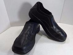 RED WING 12D Black Men Loafer Slip On Work Shoes Oil Slip Resistant Occupational…