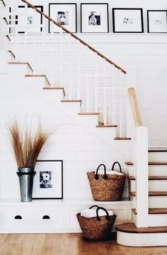 5 Ways to Dress Up Your Staircase - Wit & Delight