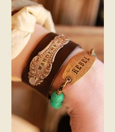 REBeL TAG BRACeLeT - {junk gypsy co} #rebel
