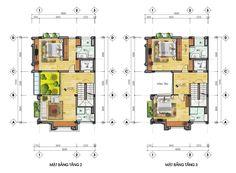 Mặt bằng dự án La Casa Villa 25 Vũ Ngọc Phan