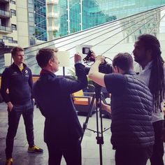 We've been out shooting Team Renault F1 drivers Nico Hulkenberg and Jolyon Palmer for BP.