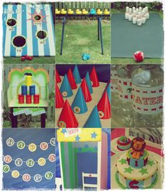Different games and activities for carnival party aurora dolittle: a circus party