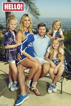 'I love being a Z-lister': Steven Gerrard has admitted he relishes in the anonymity of his celebrity status in LA