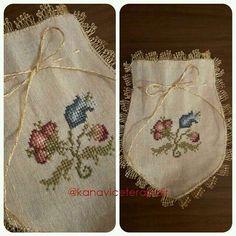 Neşe'nin gözdeleri Lavender Bags, Lavender Sachets, Potli Bags, Hardanger Embroidery, Stitch 2, Bargello, Gift Bags, Cross Stitching, Cross Stitch Patterns
