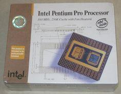 Intel Pentium Pro Processor CPU 180MHz.