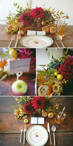 autumn inspiration ~ floral and event design: poppies  posies || photography: Trent Bailey Photography