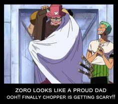 Zoro looks like a proud dad, ooh!, finally Chopper is getting scary!, funny, C… – One Piece One Piece Anime, Sanji One Piece, One Piece Comic, One Piece Pictures, One Piece Images, Manga Anime, Manga Girl, Anime Girls, Anime Art