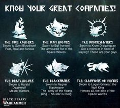 Space Wolves : Their Great Companies Warhammer Paint, Warhammer 40k Art, Warhammer 40k Miniatures, Warhammer Fantasy, Viking Cosplay, Warhammer 40k Space Wolves, Gundam Wallpapers, Wolf Quotes, The Grim