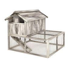 Hen Haven™ Composite Plastic/Wood Chicken Coop