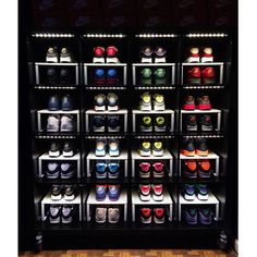 Because storage quickly becomes a problem for Sneakerheads & the wife definitely isn't trying to look at boxes across the wall(s).