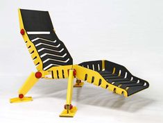 Impressive Industrial Design From Mark and Efe: Bulldozer Lounge Chair