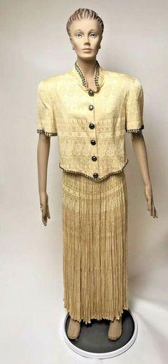 Details about Double D Ranchwear Broom Skirt Set Yellow Maxi 2 Piece Jacket  Studs Western Sz M 07b88a239379