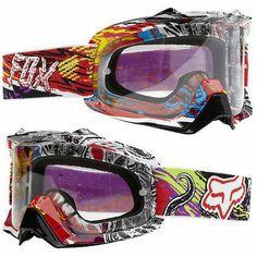 NEW FOX RACING AIRSPC PESTILENCE/CLR MX ATV BMX DH MTB GOGGLES MOTOCROSS RACING
