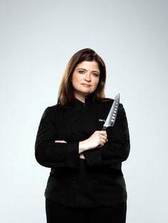 Iron Chef Alexandra Guarnaschelli...love her
