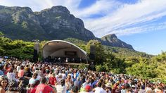 Summer Sundays in Cape Town > Book your ticket, pack a picnic and find a spot on the lawn. The Kirstenbosch Summer Sunset picnic concerts are an awesome way to end the week >>