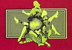 Blast-Off Girls (Herschell Gordon Lewis - 1967) Detail from the movie poster
