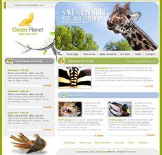 Animals World HTML Template - 0619 - Animals & Pets - Website Templates - DreamTemplate