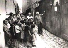 """Alleyway """"Punch & Judy"""" show"""